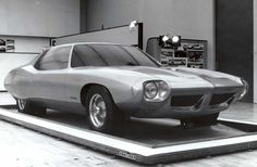 1970-71 Pontiac Firebird Concept, Design & Painted Clay Prototype by J. Samsen