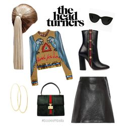 """Styled by KimBella"" by highstreetchick on Polyvore featuring Gucci, Lana, Quay and Miu Miu"
