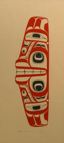 Grizzly Bear (1973) by Robert Davidson, Haida