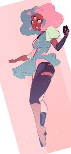 Cotton candy Garnet!!!!!!