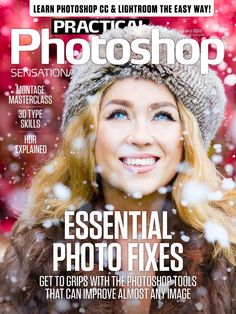Practical Photoshop Magazine 58. Essential Photo Fixes. -Montage masterclass. -3D Type skills. -HDR explained. And more..