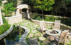 Incredible comfort and romantic atmosphere in garden