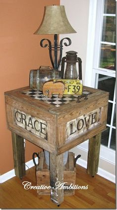 Build End Table With Drawer - Downloadable Free Plans
