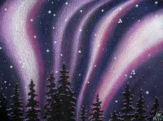 Northern Lights Art Gallery Original Aurora Borealis Paintings And Drawings By Robin Street Morris