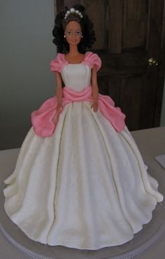 Barbie cake By bbarnes on CakeCentral.com