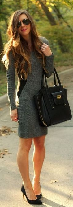 The Perfect #Fall #Dress by Cella Jane