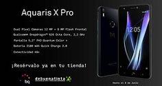 Debuentinta ofrece en exclusiva el nuevo BQ Aquaris X Pro http://www.mayoristasinformatica.es/blog/debuentinta-ofrece-en-exclusiva-el-nuevo-bq-aquaris-x-pro/n4005/