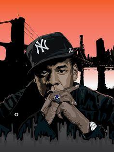 Jay Z by Tecnificent.deviantart.com on @DeviantArt