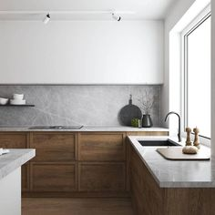 How to design your kitchen design in a thematic area – lamp ideas Best Kitchen Design, Kitchen Cabinet Design, Interior Design Kitchen, Kitchen Cabinets, Layout Design, Küchen Design, Design Ideas, Kitchen Furniture, Kitchen Dining