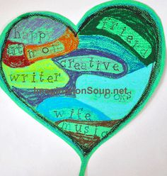 Heart Map: students draw how much of their heart belongs to different people/things. [higher-functioning]
