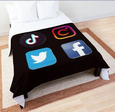 New normal comforter will blend into your style at home. Click on the link for more styles and designs. Order yours now. ♥