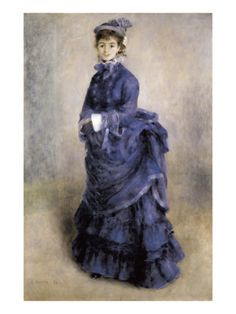 The Parisian Girl Giclee Print by Pierre-Auguste Renoir at Art.com