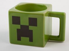 J!NX : Minecraft Creeper Face Mug - Clothing Inspired by Video Games & Geek Culture