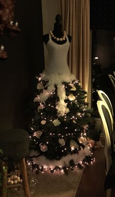 My Christmastree dress this year
