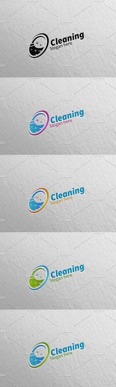 Cleaning Service Eco Friendly Logo 3