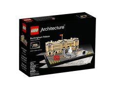 Mit dieser detaillierten LEGO® Architecture Interpretation des Buckingham Palasts erleben Sie Londons legendäre Königsresidenz – und zwar inklusive Victoria Memorial, Bus und Taxi.