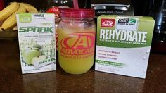 My new favorite combo! Green Apple Spark and Key Lime Cherry Rehydrate www.advocare.com/13061235
