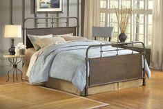 Hillsdale 1502BK Kensington Bed Set - King - Rails not included