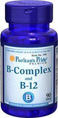 Puritans Pride Vitamin Bcomplex and Vitamin B12 90 Tablets *** Check out the image by visiting the link.(It is an affiliate link and I receive commission through sales)