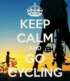KEEP CALM AND GO CYCLING. Another original poster design created with the Keep Calm-o-matic. Buy this design or create your own original Keep Calm design now. Bike Quotes, Cycling Quotes, Cycling Tips, Cycling Workout, Cycling Art, Road Cycling, Indoor Cycling, Bike Workouts, Swimming Workouts