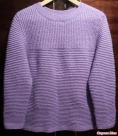 """. Пуловер """"Лавандовый"""""""