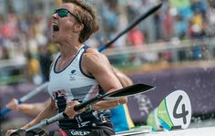 September 16 2016: From London 2012 Team GB volleyball to the 2016 Rio Paralympics, Emma Wiggs wins canoeing gold after switching sports