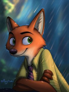 Nick Wilde: Fandom's Newest Heart-Throb. Zootopia Characters, Zootopia Comic, Zootopia Art, Zootopia Nick Wilde, Zootopia Nick And Judy, Disney Zootropolis, Disney Fan Art, Studio Disney, Judy Hopps