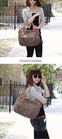 229e66744b Vintage Canvas Top-Handle Hobo Tote Handbag Crossbody Bag – luckinbag