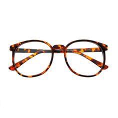 Nerdy Large Retro Style Clear Lens Round Eye Glasses Frames R1720