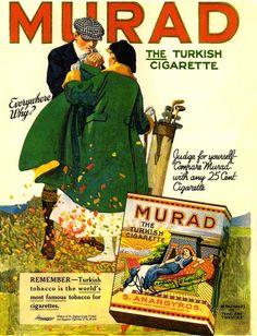 Murad Cigarettes -1917A