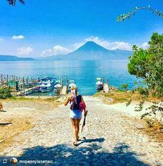 http://OkAtitlan.com  @mspennylanenwc: Ready to #SUP - #Lake #Atitlan #Guatemala #ILoveAtitlan #AmoAtitlan #Travel #CentralAmerica #LakeAtitlan #LagoAtitlan #Solola