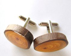 Holz-Manschettenknöpfe, Bräutigam-Manschettenknöpfe, Mens Manschettenknöpfe, aufgearbeiteten Holz Eukalyptus Manschettenknöpfe, hölzerne Manschettenknöpfe