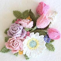 ビオラ 〈オーダー〉 | クロッシェアクセサリー La Seule Crochet Bouquet, Crochet Flowers, Doilies Crafts, Crochet Instructions, Beautiful Roses, Embroidery Patterns, Diy And Crafts, Flora, Crochet Necklace