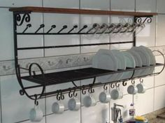 Found the dish rack that is beautiful too