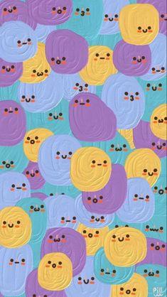 Hippie Wallpaper, Cute Pastel Wallpaper, Soft Wallpaper, Cute Patterns Wallpaper, Iphone Background Wallpaper, Wallpaper Keren, Aesthetic Pastel Wallpaper, Kawaii Wallpaper, Pretty Wallpapers