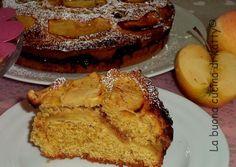 La buona cucina di Katty: Torta di mele integrale con farcia di marmellata di mandarini - Apple pie complete with stuffing jam mandarins