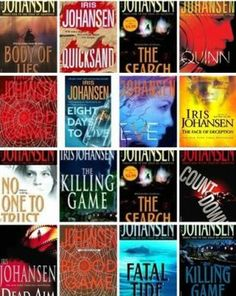 Eve Duncan Series by Iris Johansen. Such a great series, I finished the last 3 books not too long ago. Ending the series was bittersweet to say the least.