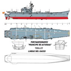 Paper Aircraft, New Aircraft, Naval History, Spanish Armada, Deck Plans, Navy Ships, Rc Model, Aircraft Carrier, Model Ships