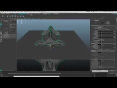 Maya - cutting a section out of a model using the toon outline