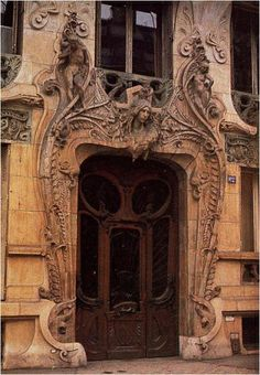 art nouveau -I want this door in my house...or to my house...or just randomly in my yard somewhere