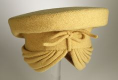 Woman's hat | Designer: Lilly Daché (France, active USA) | United States, circa 1938 | Material: wool | Los Angeles County Museum of Art, LACMA