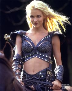 Xena's Callisto... was one of my favorite characters. Xena MADE her who she was and aside from Gabby, she is the only other person who could catch Xena's chakram.