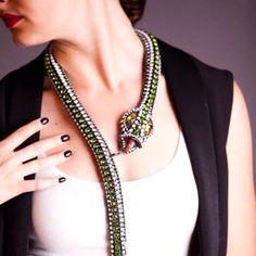 Collier: VAMP bijoux Model: Creatrice de rèves Photo: Edenia Lima Designer:Vittorio Ceccoli