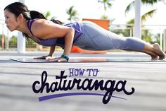 How to Chaturanga -step by step guide