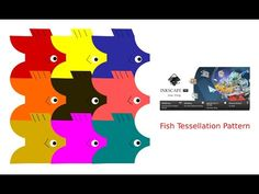 Inkscape Tutorial. Inkscape 1.0 Tutorial. Fish Tessellation Pattern inks... Tessellation Patterns, Inkscape Tutorials, Vector Graphics, Fish, Learning, Study, Teaching, Studying, Education