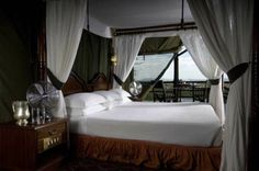 Kirawira Camp, Tanzania, grants you a savannah experience with a touch of luxury