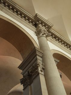 Andrea Palladio: Basilica of San Giorgio Maggiore, Venice; the construction begun in 1566; the façade was completed under the direction of Vincenzo Scamozzi between 1597-1610