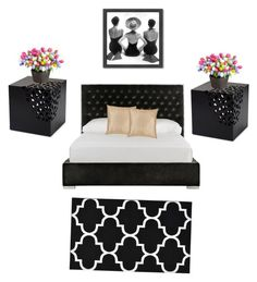 """Untitled #3"" by babybrwneyez on Polyvore featuring interior, interiors, interior design, home, home decor, interior decorating, Garland Rug, Safavieh, Americanflat and Improvements"