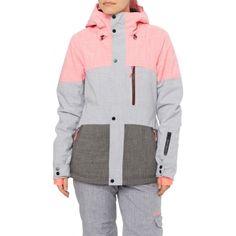 PW CORAL JACKET - Dámská snowboardová/lyžařská bunda Coral Jacket, California Surf, Coraline, Ski And Snowboard, Store Fronts, Sport, Nike Jacket, Winter, Hooded Jacket