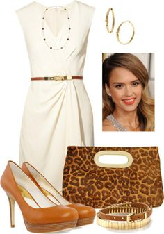 """Michael Kors Dress"" by c-michelle ❤ liked on Polyvore"